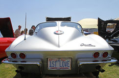 Klasyczny Chevrolet korwety samochód Obrazy Royalty Free