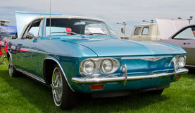 Klasyczny Chevy Corvair samochód Zdjęcia Stock