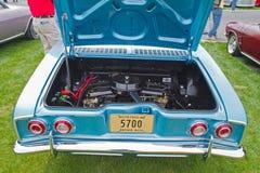 Klasyczny Chevy Corvair samochód Zdjęcia Royalty Free