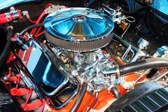 Klasyczny Chevy silnik Zdjęcie Stock