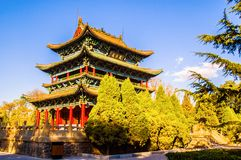 Klasyczny Chiński ancientry budynek obrazy royalty free