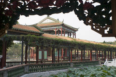Klasyczny chińczyka ogród Zdjęcie Stock