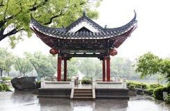 Klasyczny Chiński pawilon w Guilin Zdjęcie Royalty Free