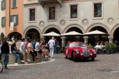 Klasyczny coupe przy Mille Miglia 2015 Fotografia Royalty Free