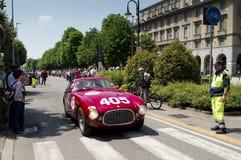 Klasyczny Coupe ` przy Mille Miglia 2016 Zdjęcia Royalty Free