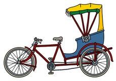 Klasyczny cyklu riksza ilustracji