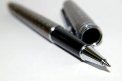klasyczny czarny długopis Fotografia Royalty Free