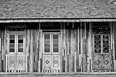 Klasyczny drewniany budynek Obrazy Stock