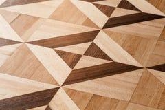 Klasyczny drewniany parkietowy projekt, wzór obraz royalty free