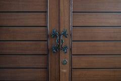Klasyczny drzwi szafa zdjęcie royalty free