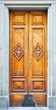 klasyczny drzwiowy drewniany Obrazy Royalty Free