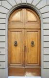 klasyczny drzwiowy drewniany Obrazy Stock