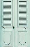klasyczny drzwiowy drewniany Zdjęcie Stock