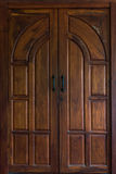 klasyczny drzwiowy drewniany Zdjęcia Royalty Free