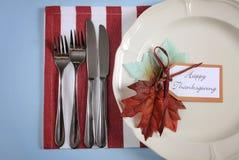 Klasyczny dziękczynienie stołu położenie fotografia royalty free