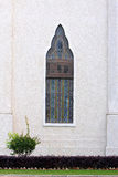 klasyczny elegancki ogrodowy mały okno Obrazy Royalty Free