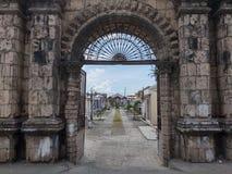 Klasyczny Hiszpański cmentarz Obrazy Royalty Free