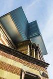 Klasyczny i nowożytny architektoniczny pojęcie zdjęcia stock
