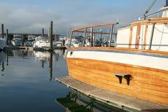 Klasyczny jachtu stern zdjęcie royalty free