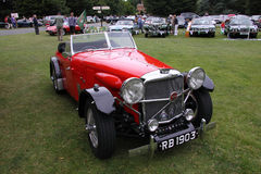 Klasyczny Jaguar sportów samochód Fotografia Royalty Free