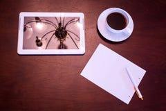 Klasyczny kawy i pastylki pecet obrazy royalty free