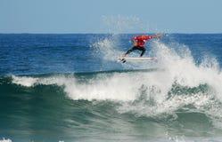 klasyczny Kelly slater dziur skarbikowana surf Zdjęcie Royalty Free