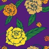 Klasyczny kwiecisty elegancki tło royalty ilustracja
