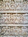 Klasyczny liścia wzoru marmur prawdziwy Obrazy Royalty Free