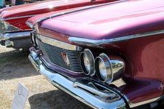 Klasyczny luksusowy amerykański samochodowy szczegół Obrazy Royalty Free