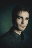 Klasyczny męski portret Zdjęcie Royalty Free