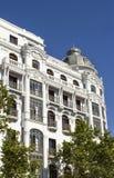 Klasyczny Madryt budynek Zdjęcie Stock