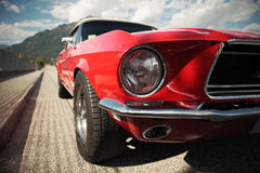 Klasyczny mięśnia samochód Fotografia Royalty Free
