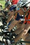klasyczny morgul biec sprintem ulicznego przełożonego Zdjęcia Royalty Free