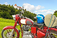 klasyczny motocykl Fotografia Royalty Free