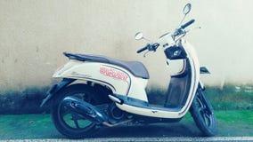 Klasyczny Motorowy cykl fotografia stock