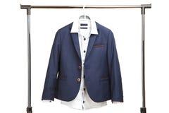 Klasyczny mundurek szkolny dla chłopiec zdjęcia royalty free