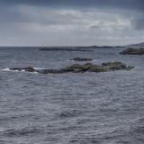 Klasyczny Norweski Seascape Podczas Wczesnego wiosna czasu Zdjęcie Stock