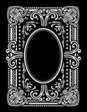 Kursować Karcianego projekta prostokąt royalty ilustracja