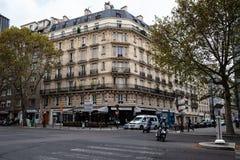 Klasyczny Paryski widok fotografia royalty free