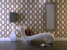 klasyczny pokój royalty ilustracja