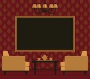 Klasyczny pokój dzienny wnętrze Zdjęcia Stock