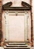 Klasyczny portal, przestrzeń dla teksta, tło Zdjęcia Stock