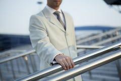 klasyczny ręki mężczyzna kostium zdjęcie stock