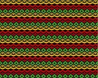 Klasyczny reggae koloru muzyki tło royalty ilustracja