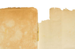 Klasyczny retro rocznika styl z starym pustym papierem Obraz Stock