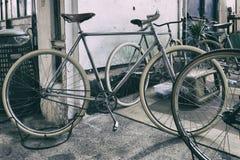Klasyczny rocznika bicykl obrazy stock