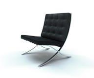 Klasyczny Rzemienny krzesło Obraz Stock