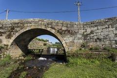 Klasyczny rzymianina most Mesquitela obrazy stock