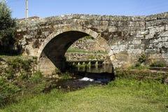 Klasyczny rzymianina most Mesquitela zdjęcie royalty free