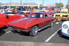 Klasyczny samochód: 1967 Chevrolet korweta obraz stock